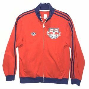 Adidas Red Bull New York Mens Medium Track Jacket